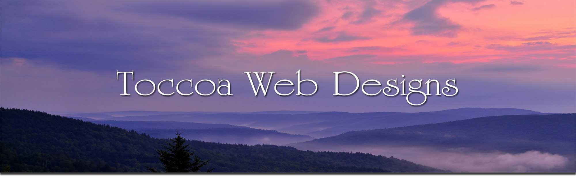 toccoa web designs banner image