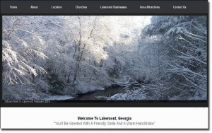 toccoa web designs lakemont ga website image