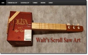 toccoa web designs walt's scroll art image